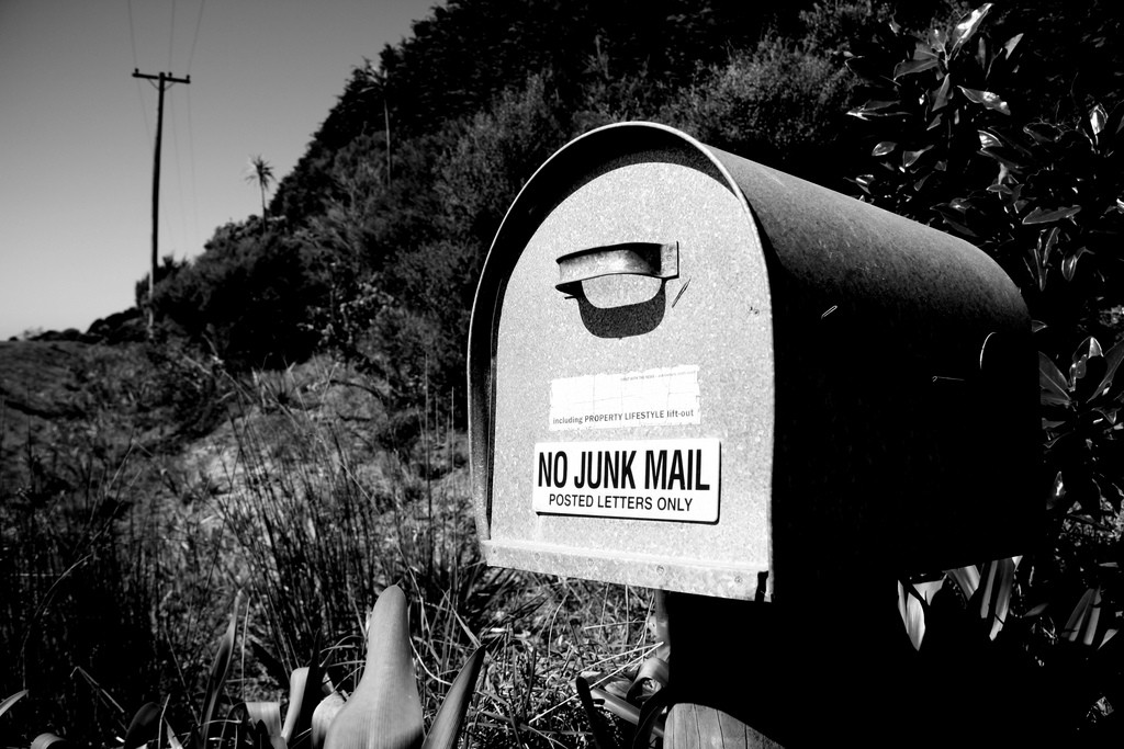 No Junk Mail photo