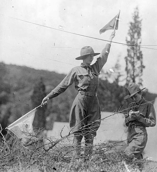 Ladies Corps Semaphore 1915