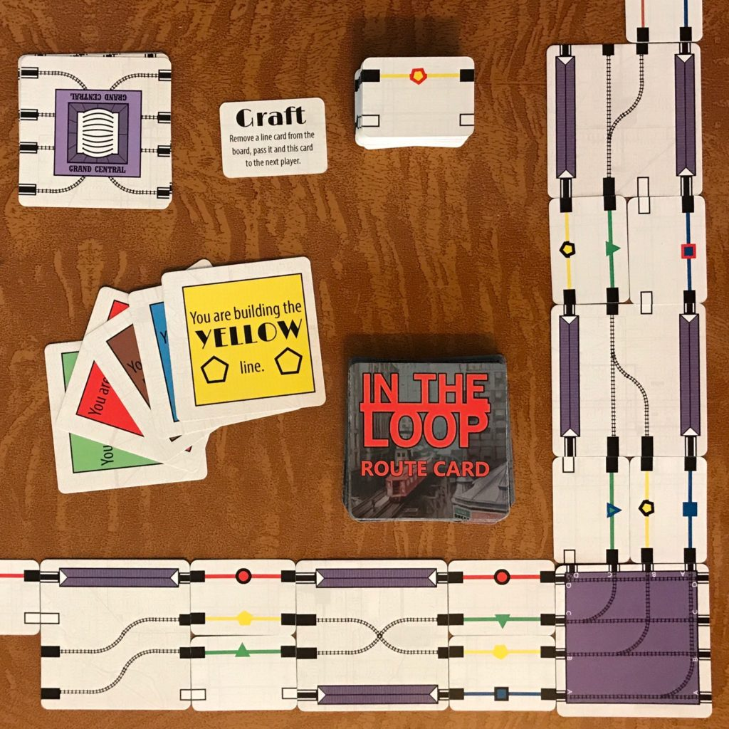 In the Loop cards and setup