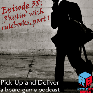 038: Rasslin with rules, part 1