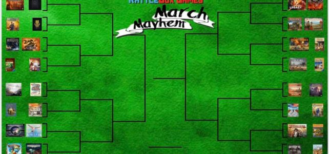 (Game Fight Show) March Mayhem Board Game Throwdown: Preview