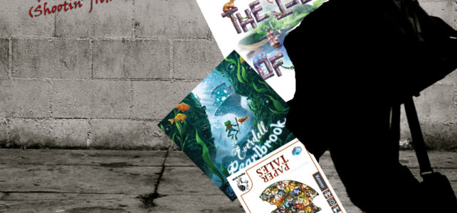 Pick Up & Deliver 224: Paper Tales, The Isle of Cats, Everdell: Pearlbrook (Shootin' from the Hip)