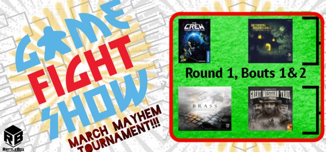 (Game Fight Show) March Mayhem 2021 ep01: Round 1, Bouts 1 & 2
