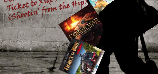 Pick Up & Deliver 330: Ticket to Ride: Märklin, Forge War, Century: Golem Edition – An Endless World