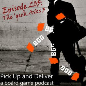 PU&D 205: The 'geek Asks