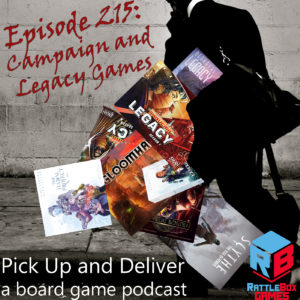 PU&D 215: Campaign and Legacy games