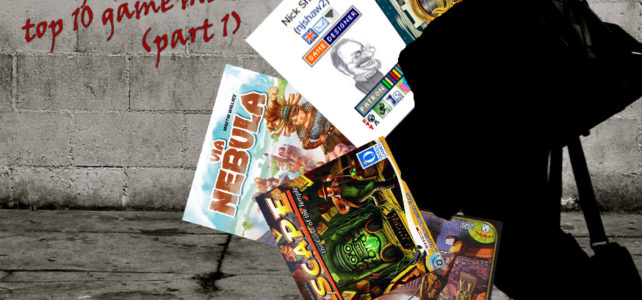 Pick Up & Deliver 244: My top games for Nick Shaw's top 10 game mechanisms (part 1)
