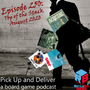 PU&D250: Top of the Stack, August 2020
