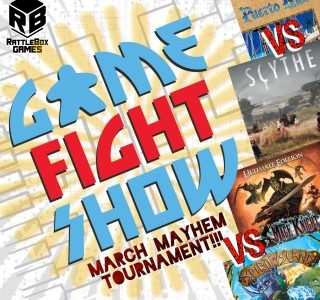 (Game Fight Show) March Mayhem 2021 ep06: Round 1, Bouts 11 & 12