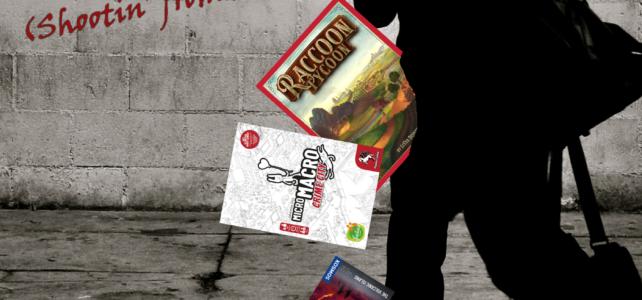 Pick Up & Deliver 341: Raccoon Tycoon, MicroMacro: Crime City,  Adventure Games: Volcanic Island