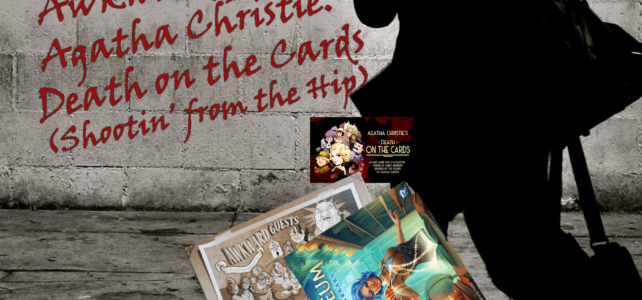 Pick Up & Deliver 354: Atheneum: Mystic Library, Awkward Guests, Agatha Christie: Death on the Cards